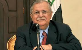 Talabanis helbredstilstand forbedres