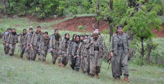 Første PKK-guerillagruppe er nået frem til Qandil