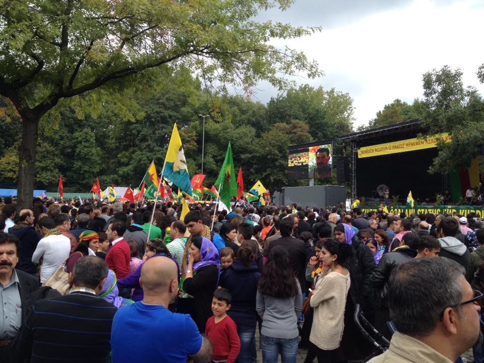 Støtte arrangement for Abdullah Öcalan i Albertslund
