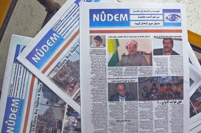 Nûdem bliver den første kurdiske avis i Syrien