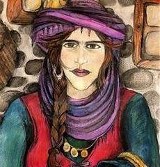 4K står for Kurdiske Kvinders Kunst Kollektiv