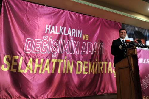 Hvem er Selahattin Demirtas, som stiller op til præsidentvalget?