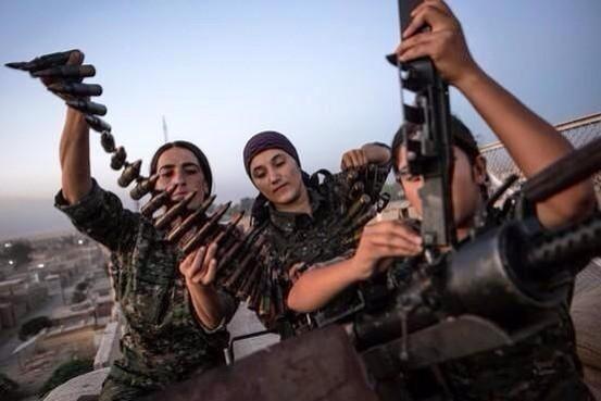 Våben til kurderne!