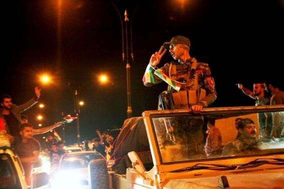 Peshmerga er tæt på Kobanê