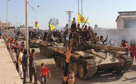Kurdiske styrker fortsætter fremmarchen i Kobanê