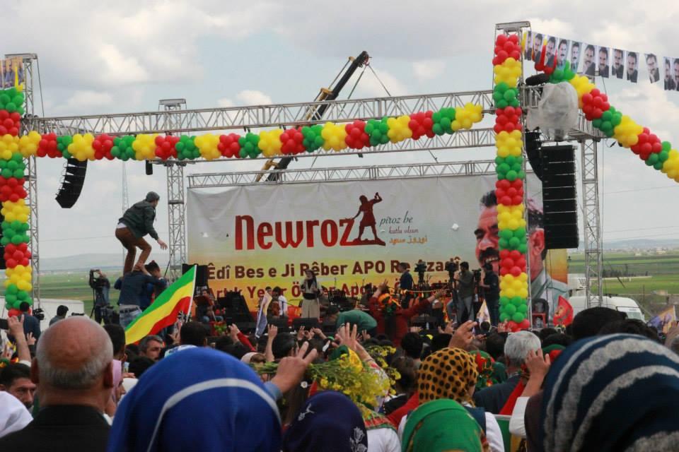 Newroz-fejring i Suruc