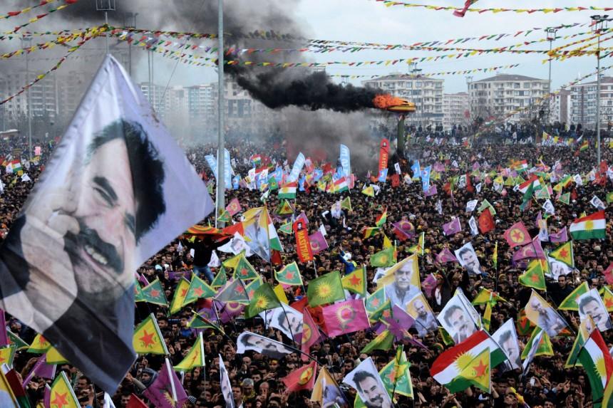 Öcalans Newroz budskab blev læst i Amed