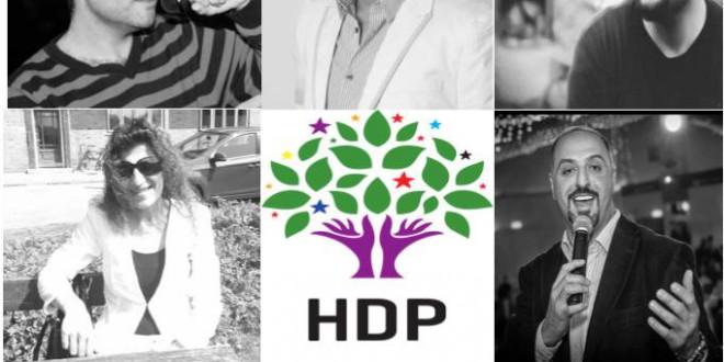 Dansk-kurdiske musiker støtter til HDP