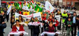 Danmark: Støtte demonstration for Rojava