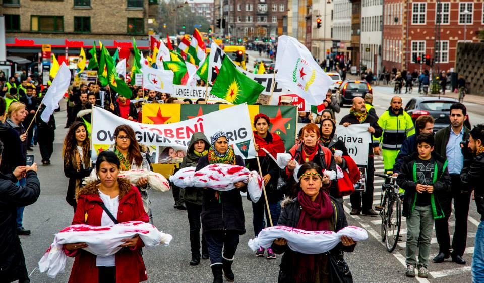 Demonstration mod Tyrkiet lørdag den 19.12 kl. 13:00