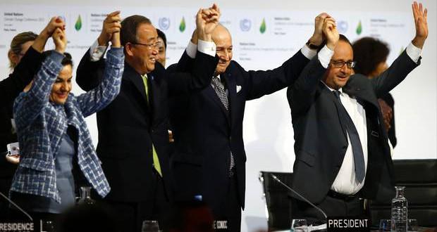 195 lande enige: Den globale opvarmning skal bremses