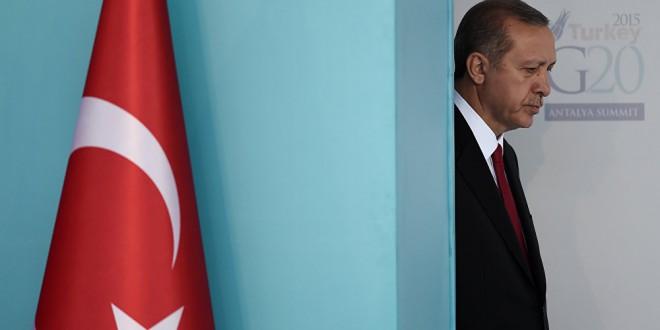 Erdogan lyver fortsat på åben skærm