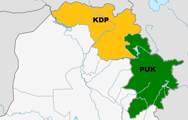 En falsk analogi: At sammenligne topartisystemet i Kurdistans Regionale Region med USA