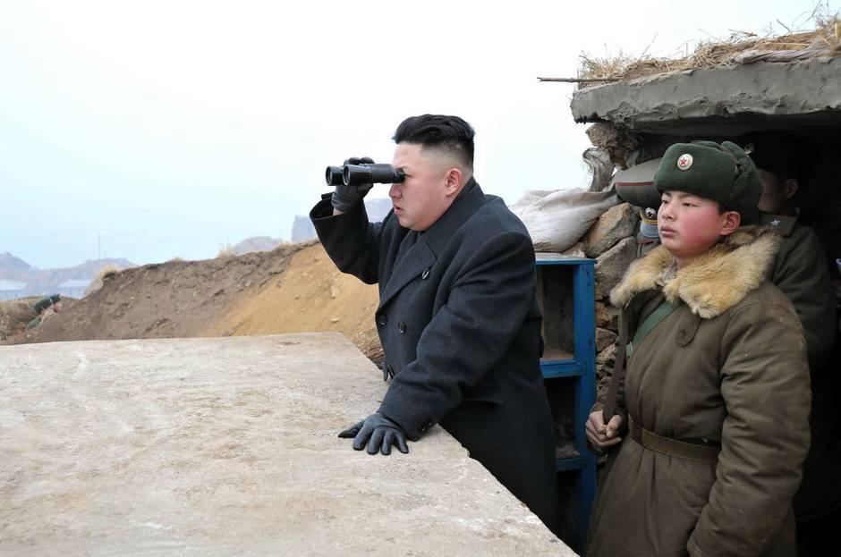 Prøvesprængning af en brintbombe i Nordkorea