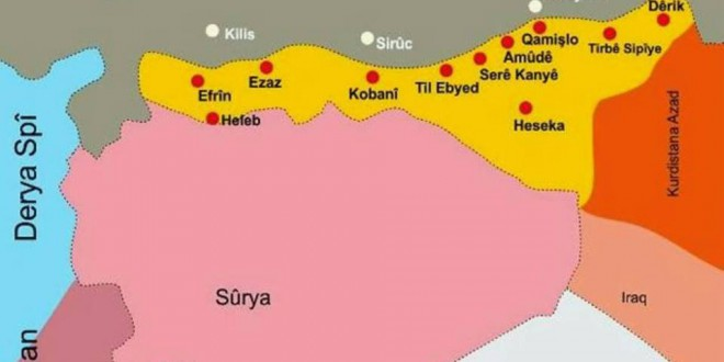 Erklæring udstedt af det konstituerende Råd for Det Føderale System i syrisk Kurdistan/Nordsyrien