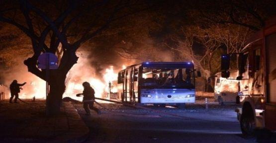 Dræbte og sårede efter eksplosion i en park i Ankara