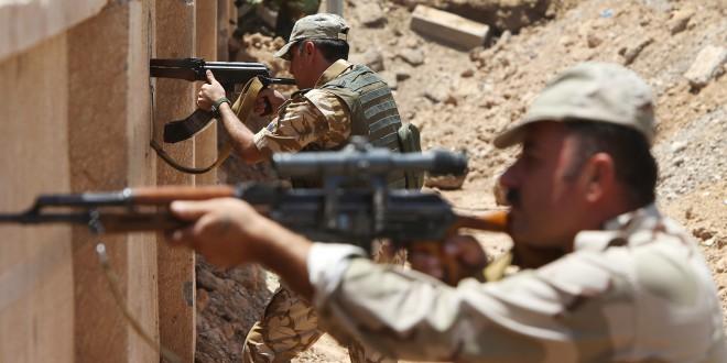 Kampe mellem Peshmergaer og shiitiske militser
