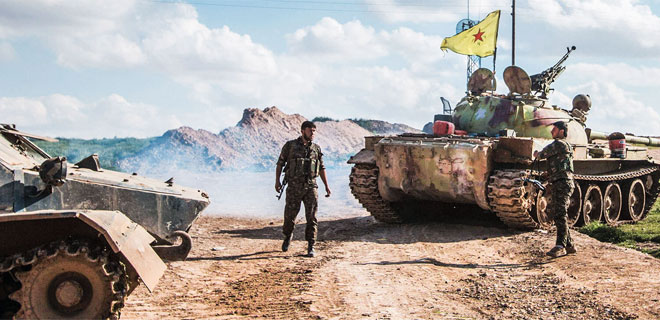 IS' hovedbase i Syrien truet af YPG/YPJ