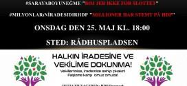 Demonstration: Stop Hetz mod HDP- Stop Erdoğan!