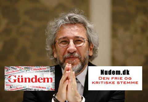 Can Dündar opfordrer til solidaritet med Özgür Gündem