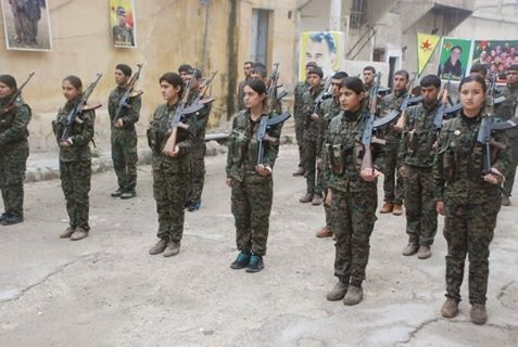 100 arabiske unge melder sig ind i YPG