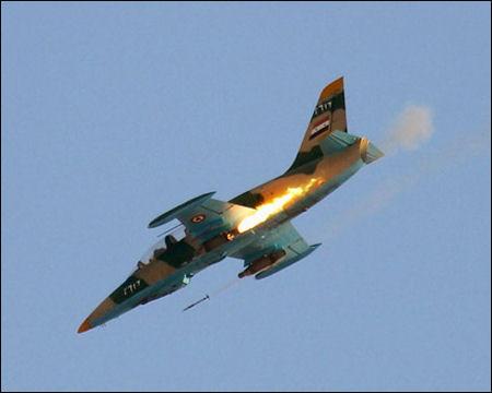 Assads krigsfly bomber kurderne i Syrien