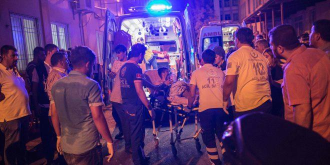 Selvmordsbombe udløst ved kurdisk bryllup i Tyrkiet