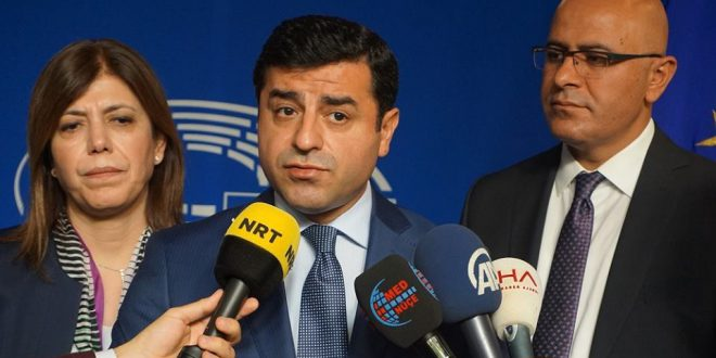 Demirtas: EU-Parlamentet skal kunne tage initiativer til en løsning i Tyrkiet