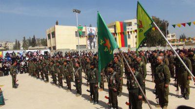 Kurdiske styrker fortsætter deres fremmarch i Raqqa