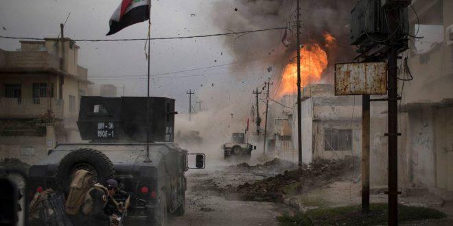 Irakiske styrker angriber den sidste IS-lomme i Mosul