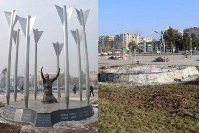 Roboski monument i Amed ødelagt