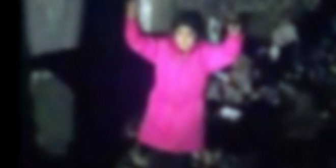 Tyrkisk politi chikanerer børn