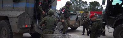 Russiske soldater er i syrisk Kurdistan