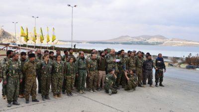 SDF-styrker nærmer sig byen Raqqa