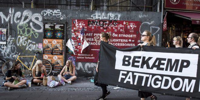 Antallet af fattige i Danmark er fordoblet siden 2002