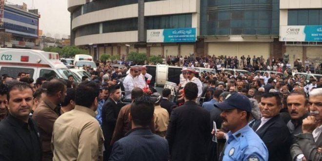 Tusinder sagde farvel til Nawshirwan Mustafa