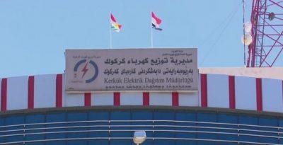 Kurdistans flag er blevet rejst over alle offentlige bygninger i Kirkuk