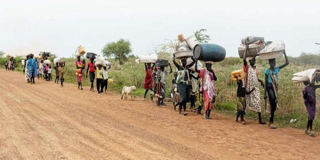 Over en million børn flygter fra blodig konflikt i Sydsudan