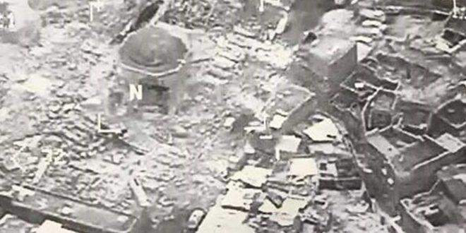 IS har sprængt moské i luften i Mosul.