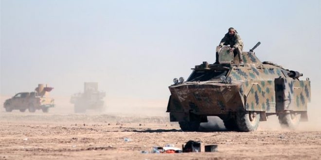 SDF-styrker angriber Raqqa fra nord, øst og vest