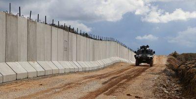 """Tyrkiet er begyndt at bygge en """"sikkerhedsmur"""" langs grænsen Iran"""