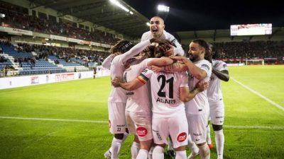 Dalkurd FF rykker op i svensk 1. division