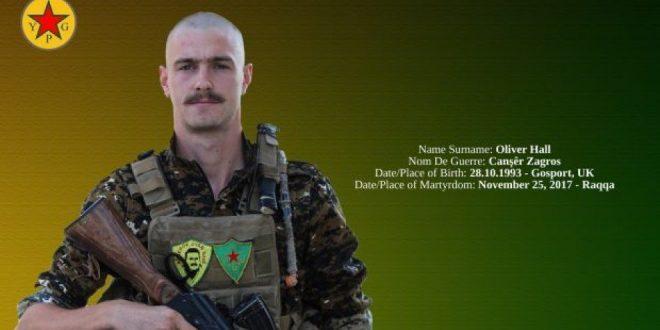 Britisk YPG-medlem er død i Raqqa
