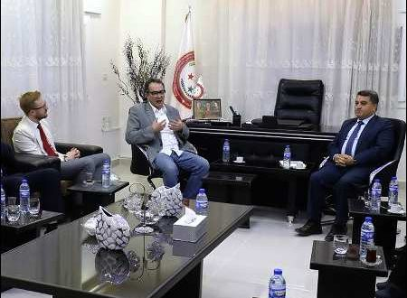 Britiske parlamentsmedlemmer på besøg i Syrisk Kurdistan