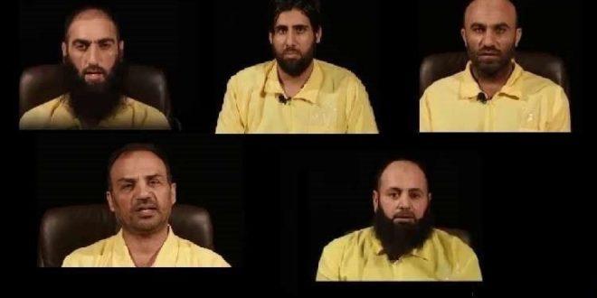 Kurdiske styrker fanger fem højtstående IS-medlemmer