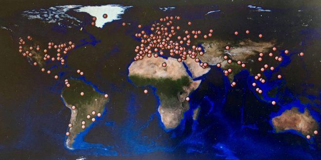 90 lande følger med Nudem
