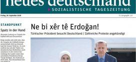 """""""Ne bi xêr tê Erdogan"""""""