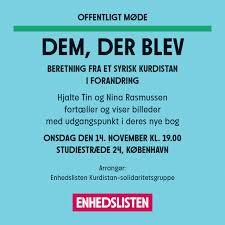 """DEM DER BLEV – En rejse til Syrien til kurdernes ukendte revolution"""""""