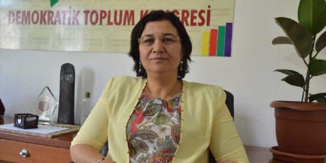 Leyla Güven, der har sultestrejket i over 78 dage