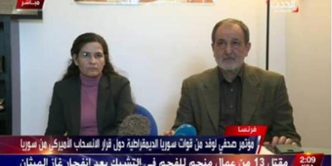 Syriske Demokratiske Råd opfordrer til en flyvefrizone i Rojava